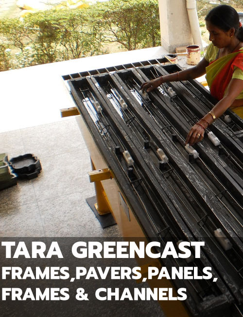 Green Cast Frames, Floor Panels, Pavers