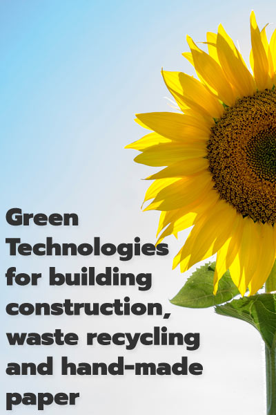 green technology for construction material